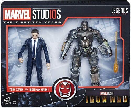 Hasbro Marvel Legends pack 2 figurines Tony Stark /& Mark 1 Iron Man