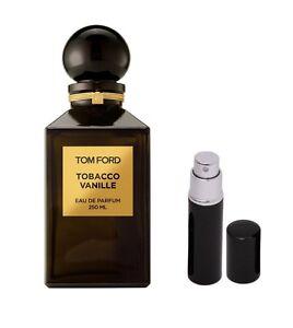 tom ford tobacco vanille 5 ml black atomizer spray ebay. Black Bedroom Furniture Sets. Home Design Ideas