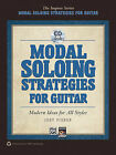 Modal Soloing Strategies for Guitar: Modern Ideas for All Styles, Book & CD by Jody Fisher (Paperback / softback, 2010)