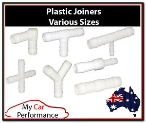Plastic-Barbed-Connector-Pipe-Hose-Joiner-Tubing-Fittings-Air-Fuel-Water-Petrol