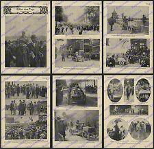 Autorennen Paris-Berlin Trabrennbahn Westend Rennfahrer Fournier Mors Fulda 1901