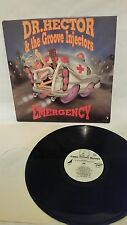 DR. HECTOR & THE GROOVE INJECTORS - EMERGENCY - VINTAGE 1991 KING SNAKE LP