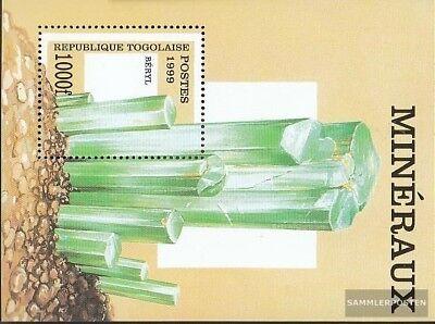 kompl.ausg. Togo Block440 Postfrisch 1999 Mineralien Eine VollstäNdige Palette Von Spezifikationen