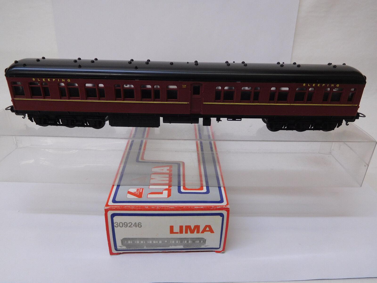 Mes54410 LIMA 309246 h0 vagone letto tam 1882 ottime condizioni