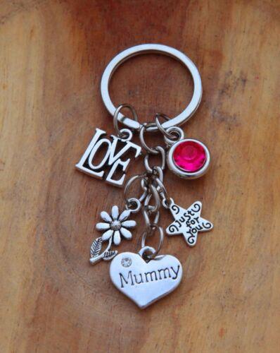 Gift keyring mum mummy nana nanny grandma  Special Nan,auntie Mother/'s day