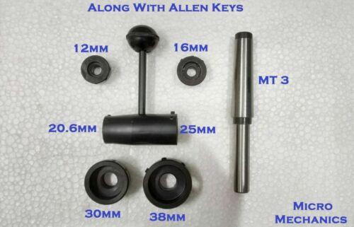 Drehmaschinen Reitstock Schneideisenhalter Set MK3 Für Metrisch 12mm bis 38MM