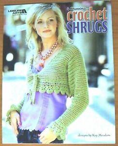 4-Stunning-Crochet-Shrugs-by-Kay-Meadors-Leisure-Arts
