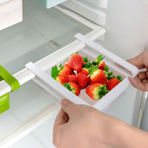 Kitchen-Fridge-Space-Saver-Storage-Slide-Under-Shelf-Rack-Organizer-Holder-Box