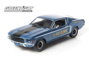 GREENLIGHT-12844-FORD-MUSTANG-GT-FASTBACK-model-car-Jimbo-039-s-Pure-Oil-68-1-18th