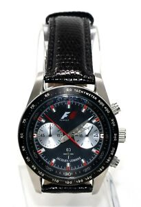 Details about Jacques Lemans Formula 1 F1 Chronograph Men's Sport Silver Stainless Watch F5019