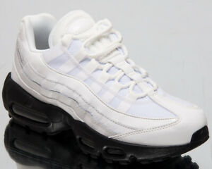 Details about Nike Air Max 95 SE Women's New Summit White Black Lifestyle Sneakers AQ4138 102