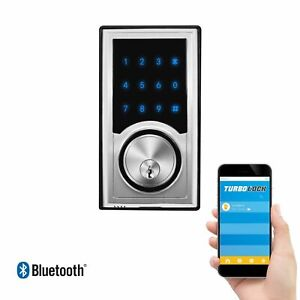 TurboLock-TL-200-Smart-Deadbolt-Lock-w-Real-Time-Monitoring-App-eKeys-Passcodes