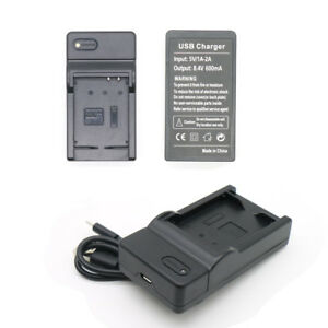 Digital-USB-Camera-Battery-Charger-For-Canon-NB-10L-SX40-HS-SX40HS-600mA-New