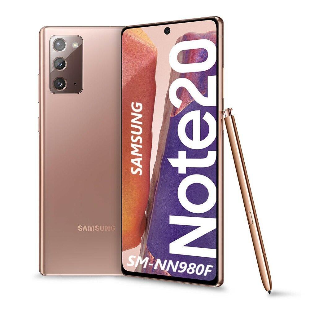 Samsung Galaxy: Samsung Galaxy NOTE 20 6.7″ 8+256GB NUOVO DualSim MYSTIC BRONZE SM-N980F