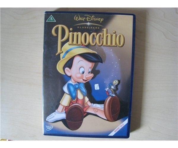 Pinocchio, DVD, tegnefilm