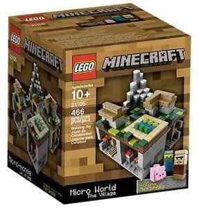 Lego® 21105 Minecraft ™ The Village Nouvel Ovp_new Misb Nrfb