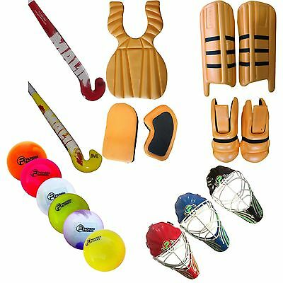 "Malik Field Hockey""Goalie Equipment"" Brand New,7 Pieces Set New ..."