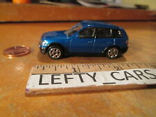 DARK BLUE BMW X3 4 DOOR SUV SCALE 1/64 - LOOSE! NO BOX!