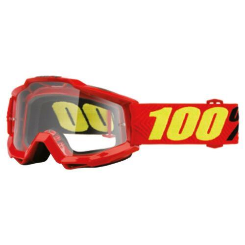 100/% ACCURI OTG Goggle Occhiali Chiaro DH MTB MX DOWNHILL per Occhiali travi