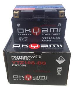 BATTERIA-OKYAMI-YTZ10S-BS-SIGILLATA-YAMAHA-TMAX-T-MAX-500-ANNO-2008-2009-2010-11