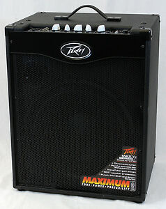 Peavey-MAX-115-II-Electric-Bass-Guitar-300-Watt-Combo-Amplifier