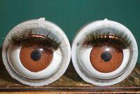 Vintage Plastic Capsule Eyes (brown) 0,71