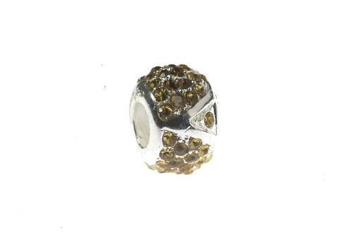 European bead Golden pedrería Super pedrería nuevo 10-78