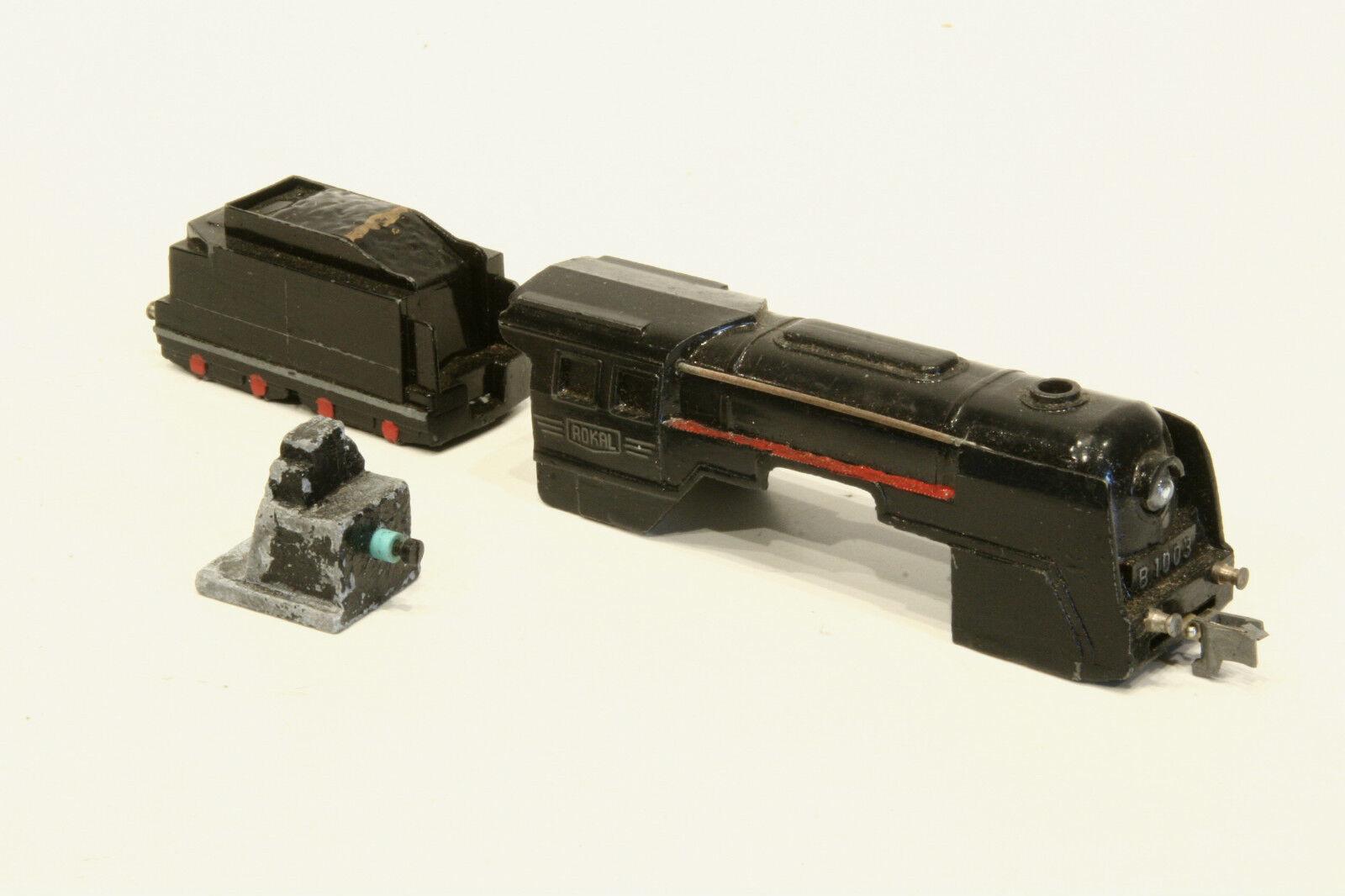 ROKAL TT B 1003 chassis per locomotiva e tender, locomotiva chassis, molto bella