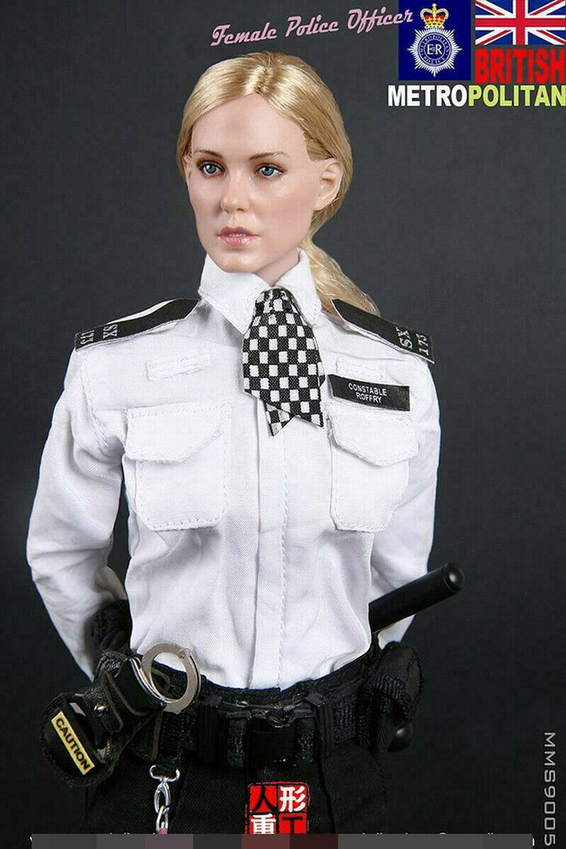 MODELING MMS9005 Metropolitan 1 6 Female Police Officer Action Figure