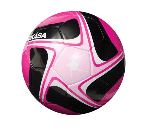 Soccer Ball, Thermal Fusion Construction, game ball, size 4, pinkblackpink NEW