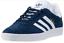 Scarpe-Uomo-Adidas-Gazelle-Blu-in-Camoscio-Sportive-Camminata-Moda-Classica miniatura 1
