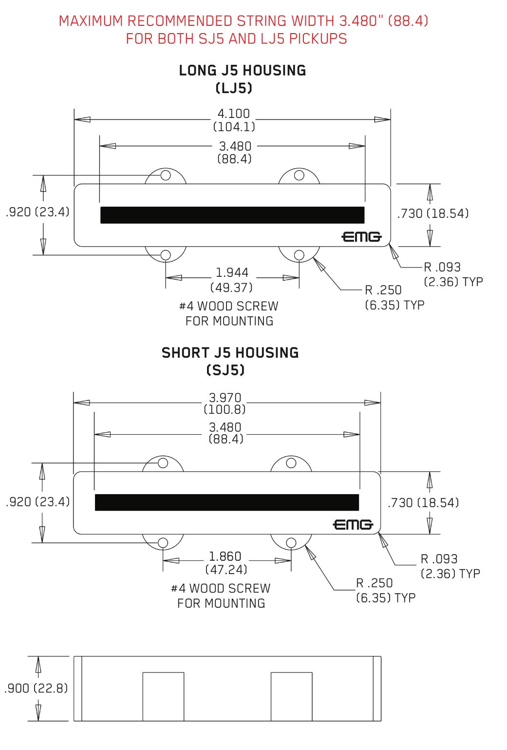 Lj5 Emg Wiring Diagrams Jackson Guitar Pickup Diagram J5 Active 5 String Jazz Bass Set Ebay Rh Com Passive