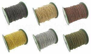 Bulk Ball Chain Roll - Silver Gold Bronze Copper Gunmetal - 10 30 100 330 Feet