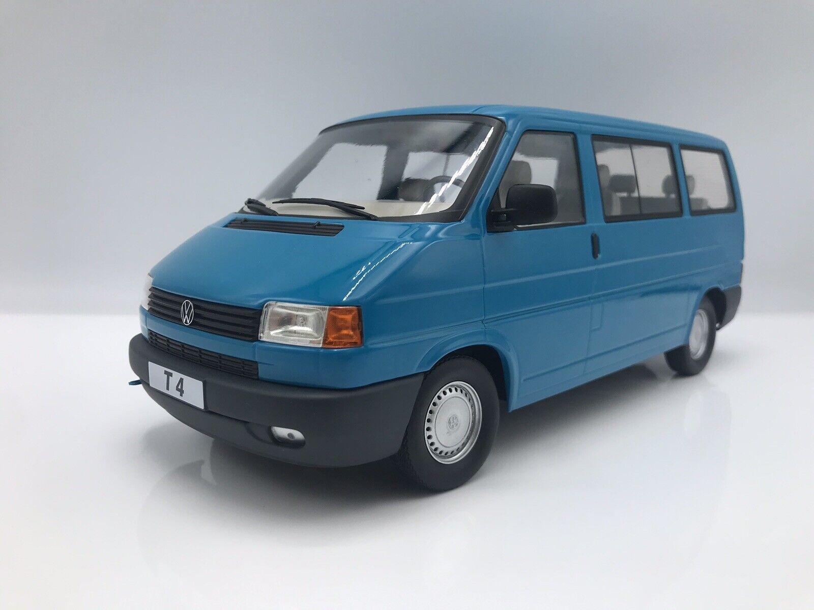 venta de ofertas VW t4 Cocheavelle 1992 azul autobús matrícula - 1 1 1 18 KK-scale new    envío gratis