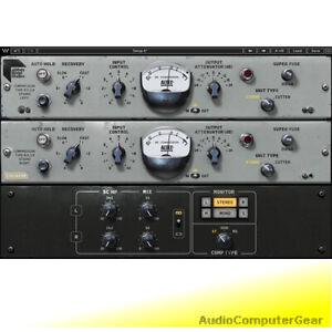 Waves-ABBEY-ROAD-RS124-COMPRESSOR-Vintage-Tube-Audio-Software-Plug-in-NEW