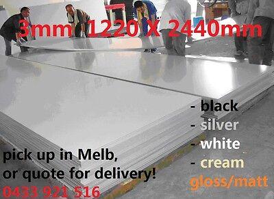 3mm Aluminum Composite Panel/Metal /Trailer Panel Sheet /Alucobond 1220x2440mm