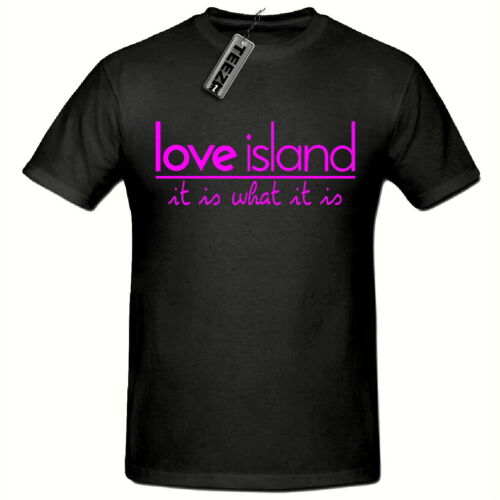 Pink love island tshirt,It is what it is Unisex tshirt,tv love island tshirt