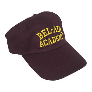 Bel-Air Academy Hat Will Smith Fresh Prince Baseball Cap Of Dad ... c39c320c3e2