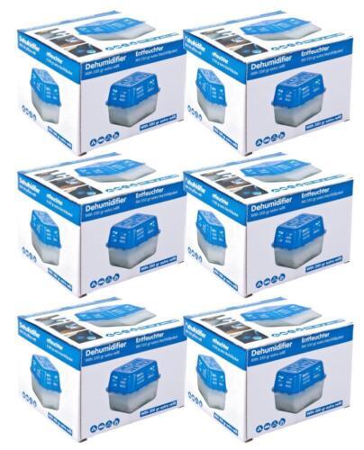 6 dkb deshumificador 350g con 6 nachfüllpacks granulado raumentfeuchter secadora