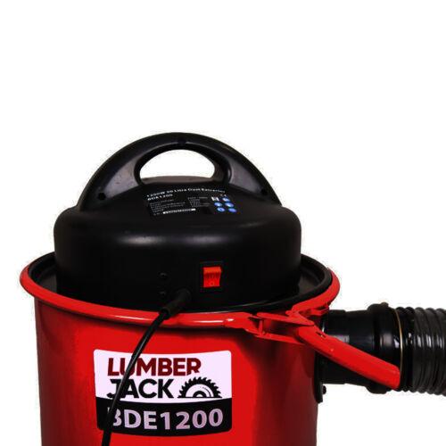 Lumberjack 50 L Poussière Extracteur puce collector 1200 W Comprend 5 PC Adaptateurs 240 V