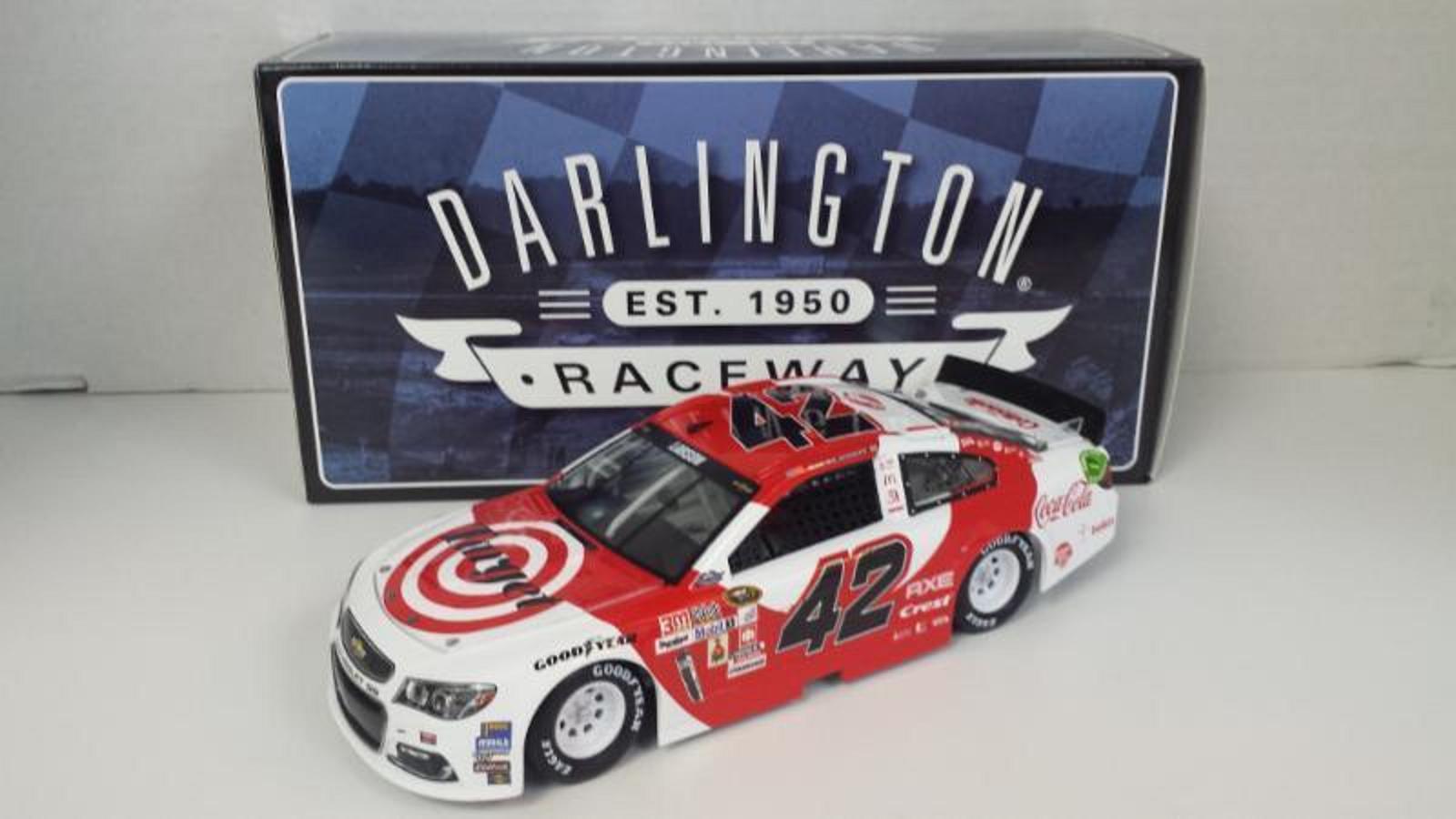 NASCAR 2016 KYLE LARSON #42 TARGET DARLINGTON SPECIAL 1/24 DIECAST CAR