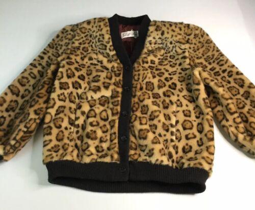 VTG 1960s Lilli Ann Cheetah Print Princess Style J