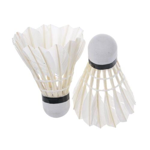 xx Confezione 2 Pezzi Volano Per Gioco Tennis Badminton dfh