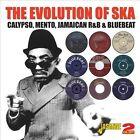 The Evolution of Ska: Calypso, Mento, Jamaican R&B & Bluebeat by Various Artists (CD, Jul-2013, 2 Discs, Jasmine Records)