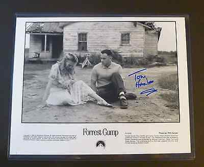 Signed TOM HANKS 8x10 - from Late KC Movie Critic Doug Moore Collection