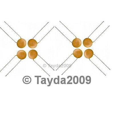 30 x 10pF 50V Ceramic Disc Capacitors - Free Shipping