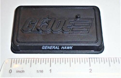 GI Joe Figure Nom Plaque Display Stand//Base 2011 General Hawk