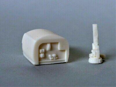 Kehrmaschinenaufbau-Bausatz aus Resin passend für Unimog H0 1:87 MADE IN GERMANY