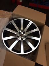 "20"" BLACK POLISHED ALLOY WHEELS CHRYSLER 300C, DODGE CHARGER,CRD,SRT, with tyres"