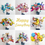 5pc-Random-Animal-Foil-Balloons-Baby-Shower-Kids-Birthday-Party-Decor-Balloon miniature 1